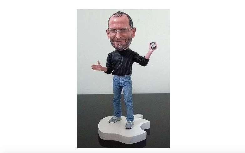 Actionfigur Steve Jobs