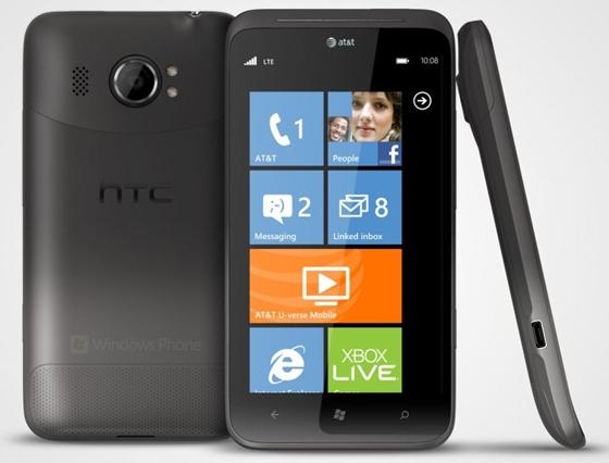 Windows Phone HTC Titan 2 veröffentlicht