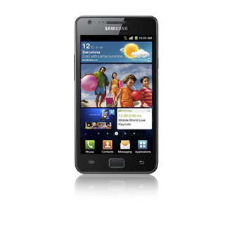 Galaxy S2 mit Android 4 und TouchWiz im Video