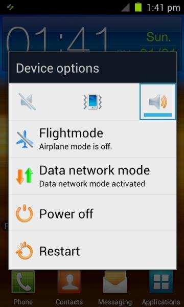 Erste Bilder vom Galaxy S2 mit Android 4 TouchWiz
