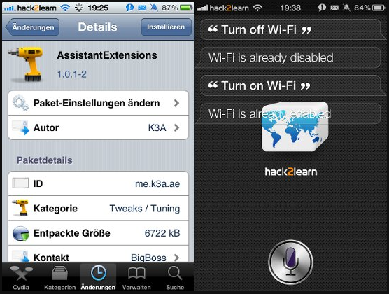Siri Jailbreak Tweaks [Videos]