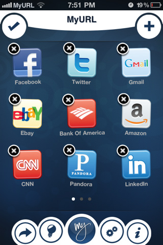 iOS App MyURLs veröffentlicht