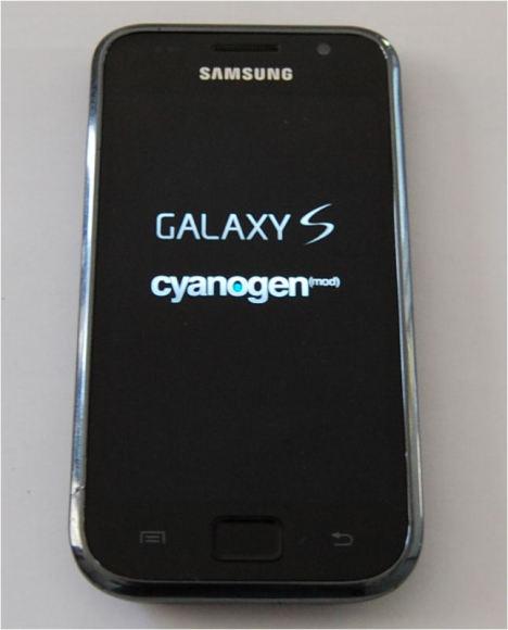 Samsung Galaxy S update auf Android 4.0.3