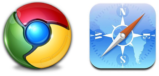 Browser-Vergleich: Google Chrome vs Apple Safari