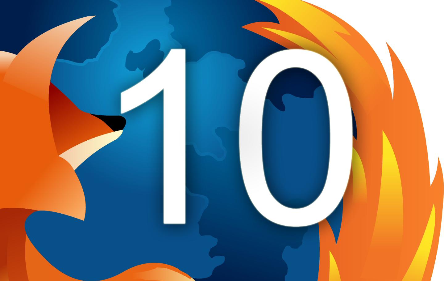 Firefox 10 veröffentlicht
