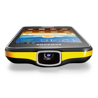 Samsung Galaxy Beam: Android-Smartphone mit integriertem Beamer [Video]