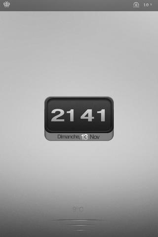 GreyMinimal LockScreen [iPhone 4]