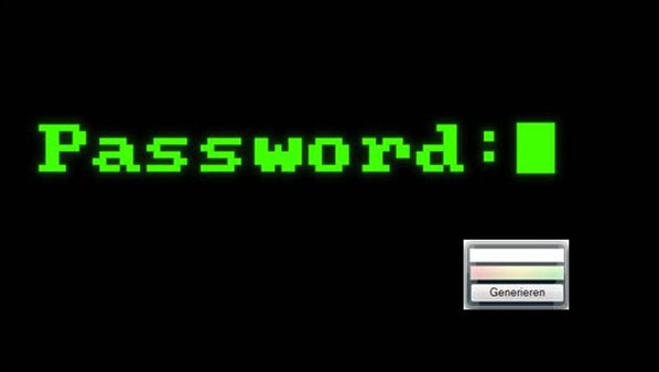 Google Chrome erhält Passwort Generator