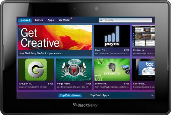 PlayBook mit Update zum iPad Killer?