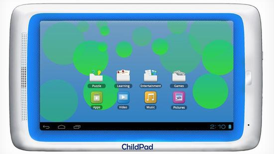 Child Pad: Tablet für Kinder veröffentlicht