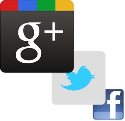 Google+ Twitter oder Facebook?