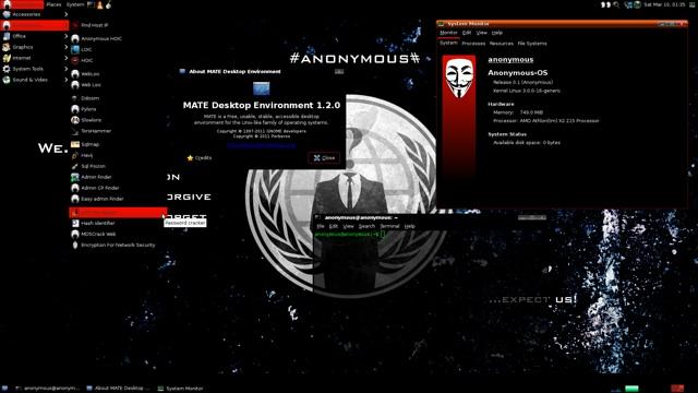 Anonymous OS ist eine Fälschung!