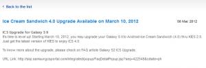 Galaxy S II bekommt ICS [Update]