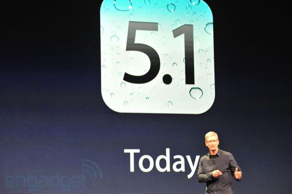 iOS 5.1 veröffentlicht
