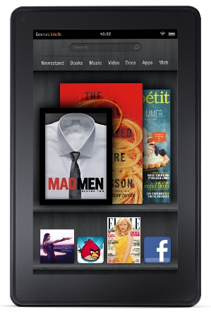Amazon Kindle Fire mit 10 Zoll-Display kommt?