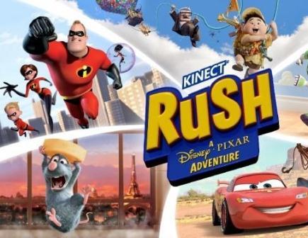 Kinect Rush: A Disney Pixar Adventure für Xbox 360