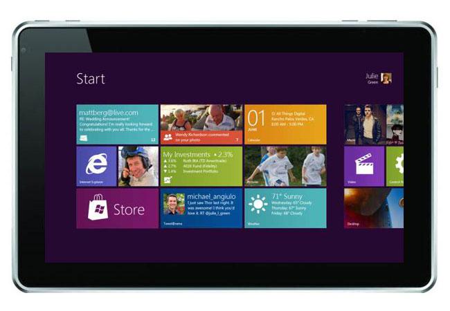 Windows 8 Tablet bereits im Oktober?