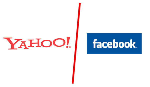 Yahoo gegen Facebook