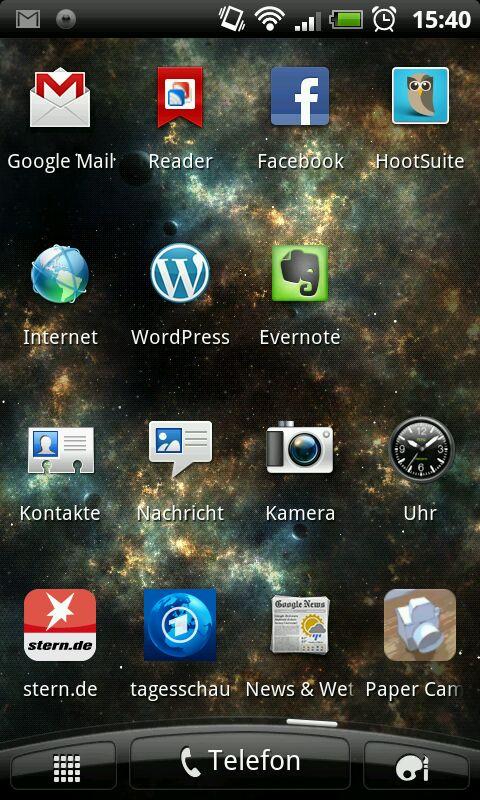Android-Apps auf meinem Smartphone