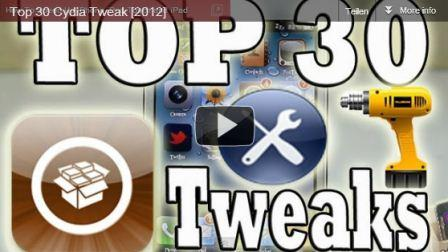 TOP 30 Cydia-Tweaks