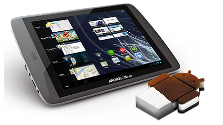 Test Tablet Archos 80G9