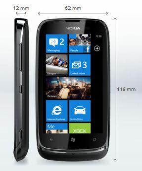 Nokia Lumia 610 veröffentlicht