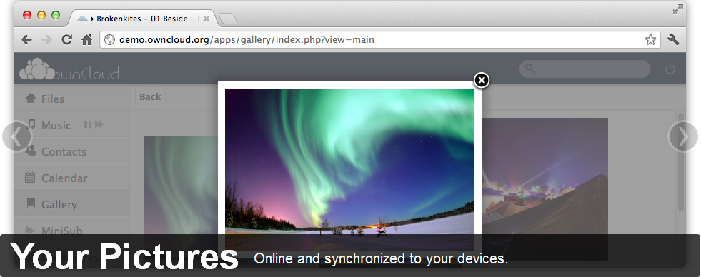 owncloud pictures