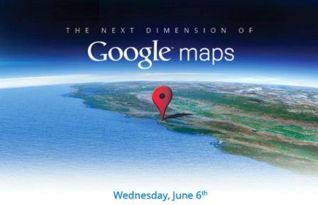 Google Maps Event für den 06. Juni angekündigt