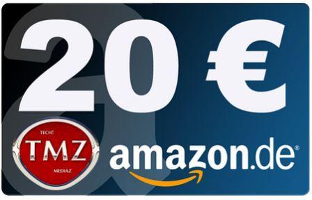 1000 Fans und +1 auf Google Plus. Verlosung des 20 Euro Amazon Gutscheins