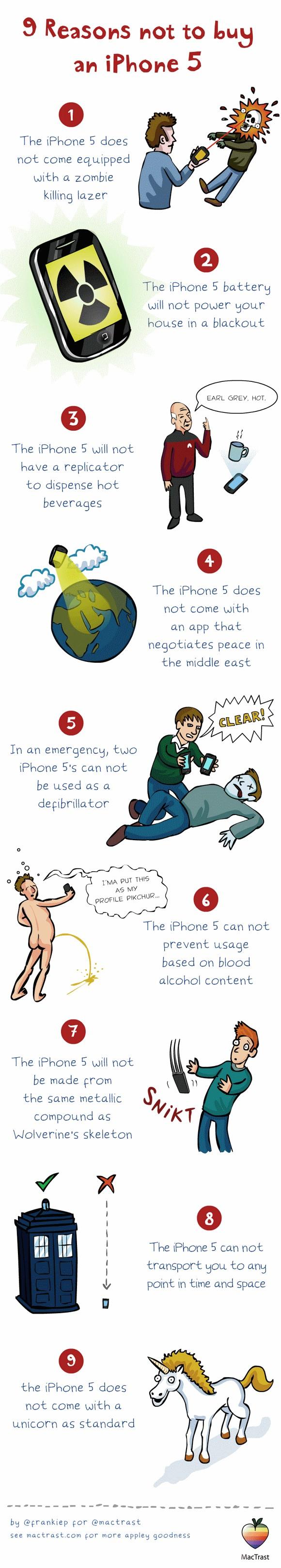 9 Gründe nicht das iPhone 5 zu kaufen