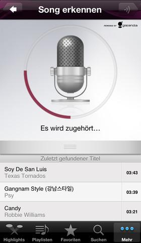 WiMP_Song_erkennen