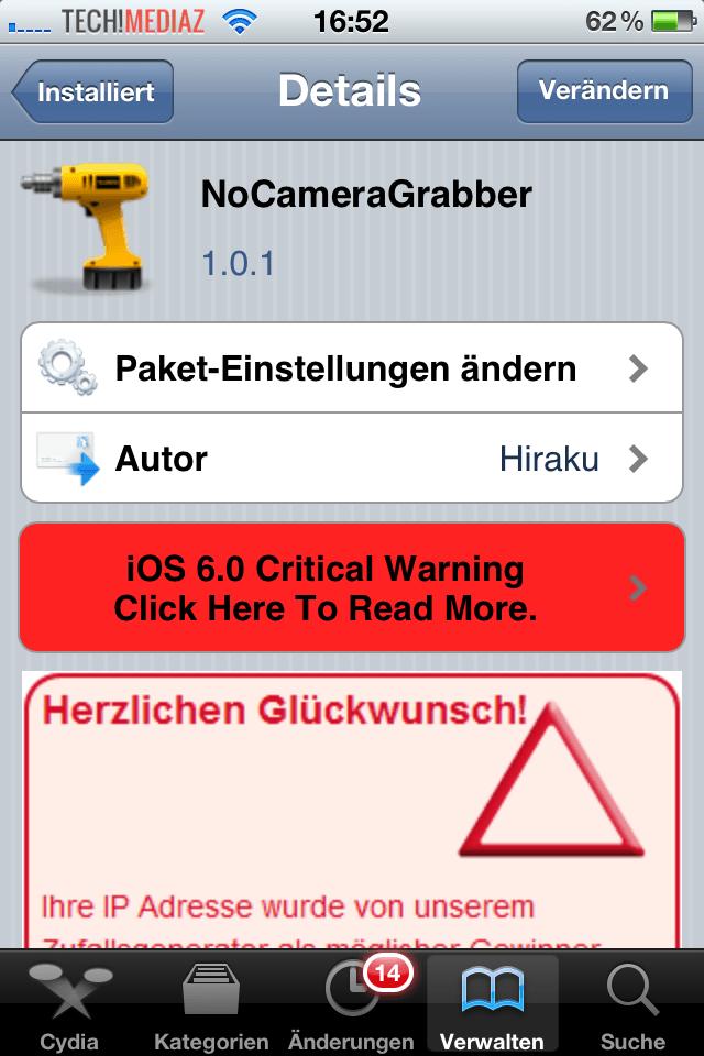 NoCameraGrabber