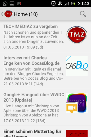 TECH!MEDIAZ_Android_App_Screenshot