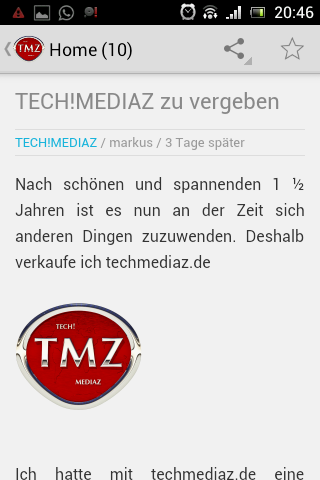 TECH!MEDIAZ_Android_App_Screenshot1