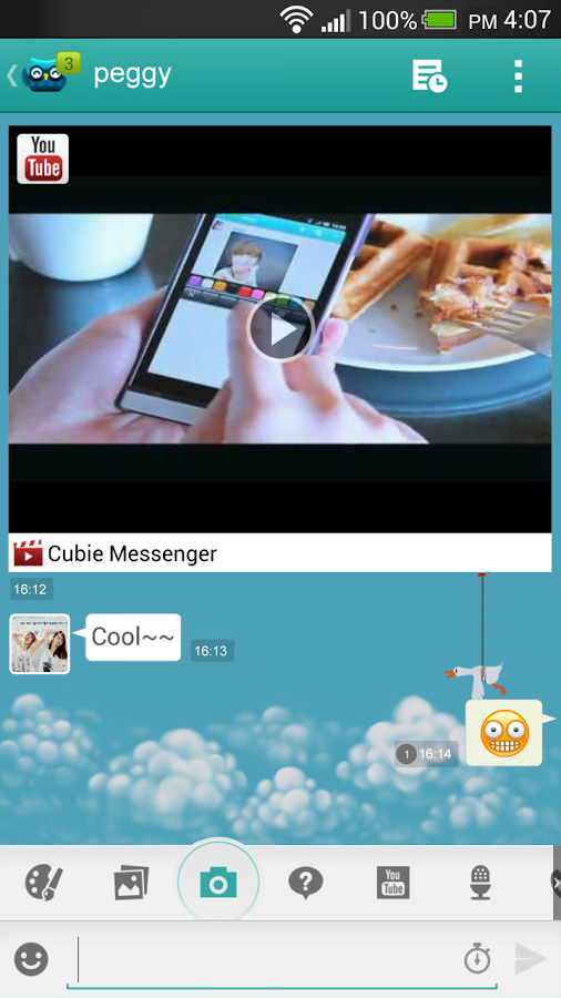 Cubie_Messenger_Video