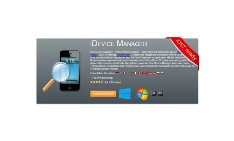 iDevice Manager Update