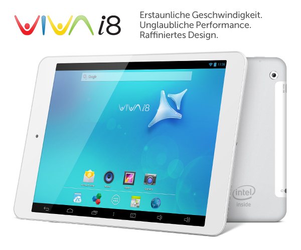 VIVA i8-Tablet-PC