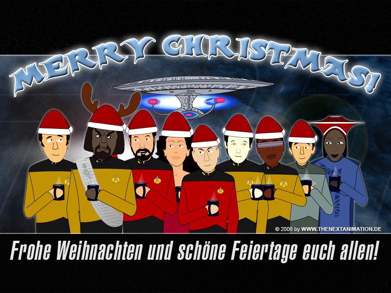 Raumschiff Enterprise weihnachten
