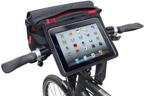 Auf moderne elektronische Begleiter wie Smartphone und Tablet wollen viele Radler nicht mehr verzichten. Clever befestigt, bleiben die Geräte auf dem Rad immer einsatzbereit.