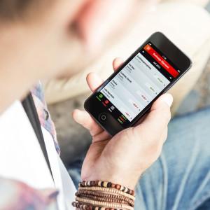 """Mit einem Blick alles unter Kontrolle: Die kostenfreie """"Finanzchecker""""-App hilft bei der Planung des privaten Budgets."""