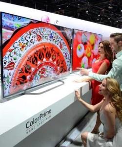 CES 2015 Samsungs neuer 110 Zoll TV