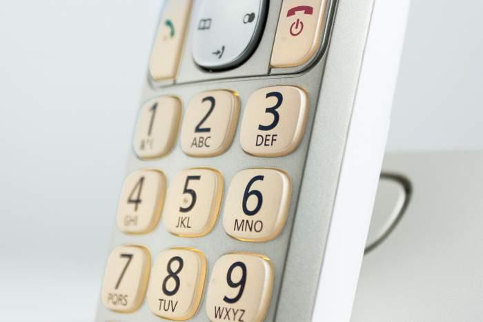 Telefon mit Grosse Tasten von Panasonic