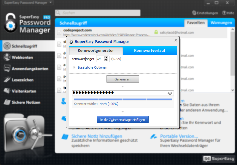 supereasy-password-manager-passwortgenerator-screen