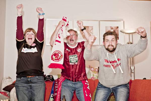 Fussball-Fans