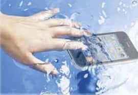 Smartphone-unter-Wasser