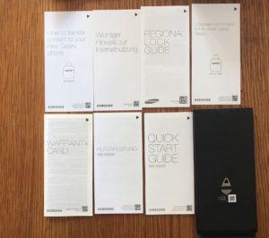 Anleitungen vom S8