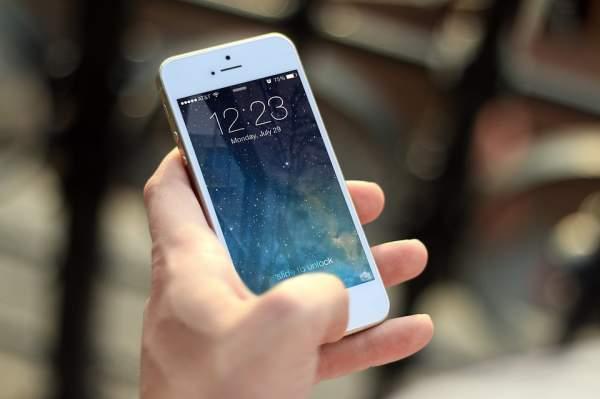 Smartphone-Handynutzung